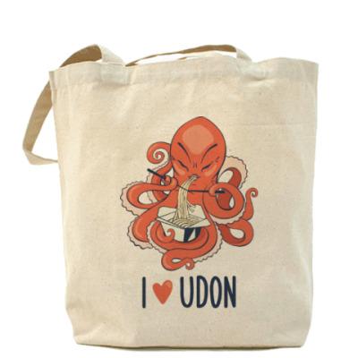 Сумка I love udon