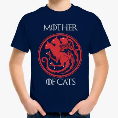 Детская футболка Игра престолов коты