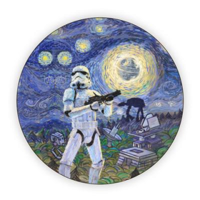Костер (подставка под кружку) Star Wars Starry Night