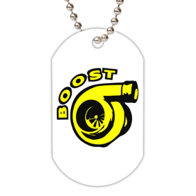 Жетон dog-tag Boost