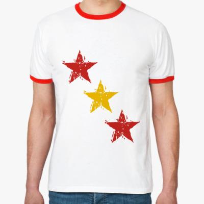 Футболка Ringer-T Звёзды