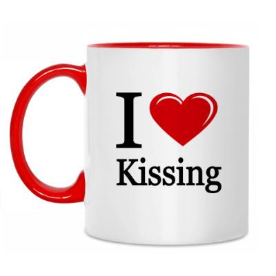 Кружка KISSING