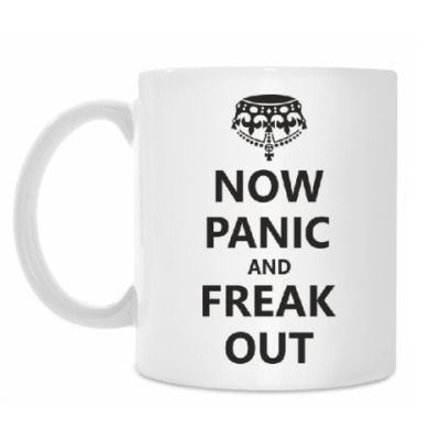 Кружка  Now Panic.