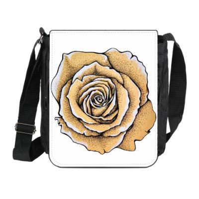 Сумка на плечо (мини-планшет) Роза