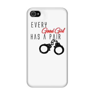 Чехол для iPhone 4/4s Every Good Girl
