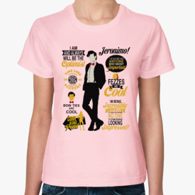 Женская футболка Doctor Who 11