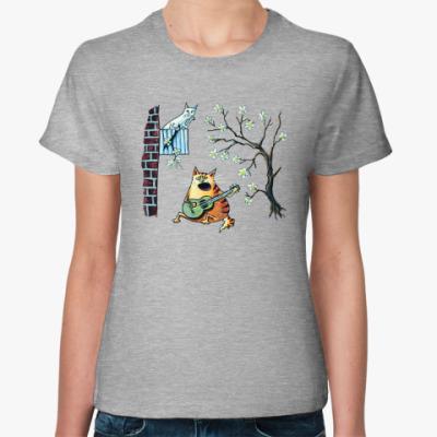 Женская футболка Серенада