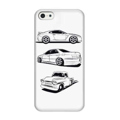 Чехол для iPhone 5/5s Машины