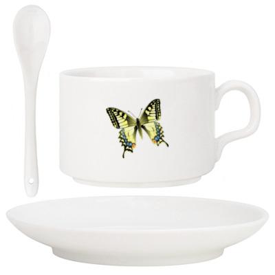 Золотистая бабочка