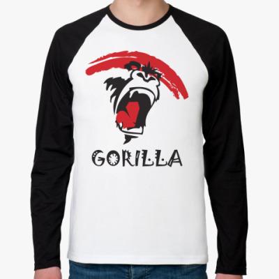 Футболка реглан с длинным рукавом Gorilla