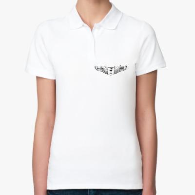 Женская рубашка поло MedAngel (медицина)