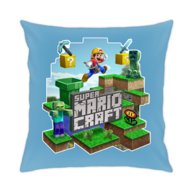 Подушка Super Mario Craft