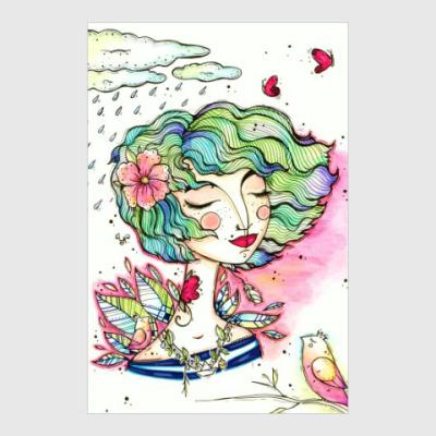 Постер Весна