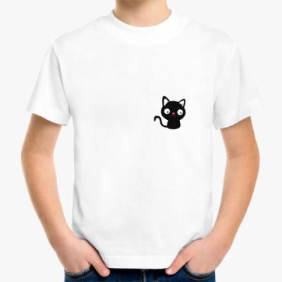 Детская футболка Котик