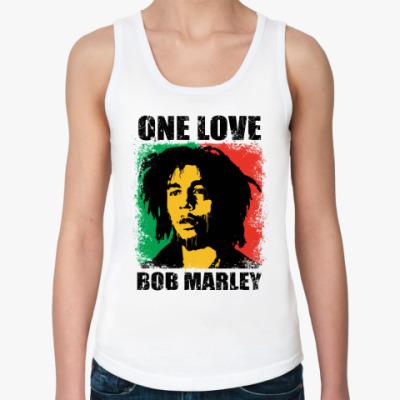 Женская майка  'Bob Marley'