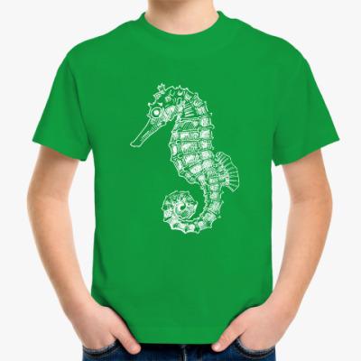 Детская футболка Морской Конек