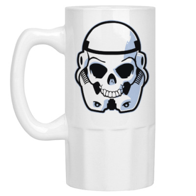 Пивная кружка Trooper Skull