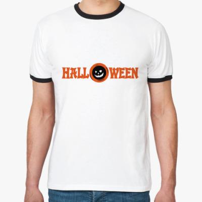 Футболка Ringer-T  Halloween