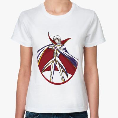 Классическая футболка Code Geass. Lelouch of the Rebellion