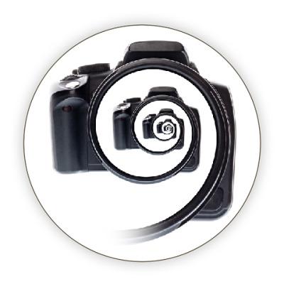 Костер (подставка под кружку) Бесконечный фотоаппарат