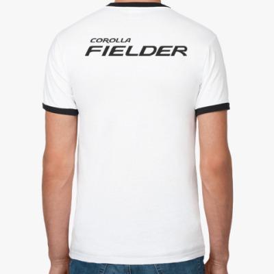 Футболка Ringer-T Футболка Ringer-T Corolla Fielder белая