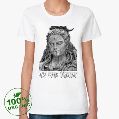 Женская футболка из органик-хлопка Господь Шива