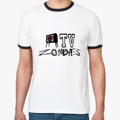 Футболка Ringer-T TV Zombies