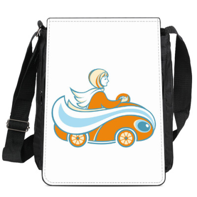 Сумка-планшет Апельсинка