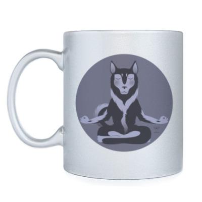 Кружка Animal Zen: H is for Husky