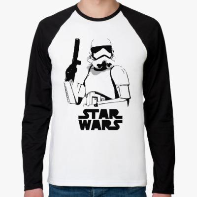 Футболка реглан с длинным рукавом Star Wars VII