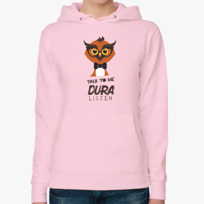 Женская толстовка худи DURA OWL