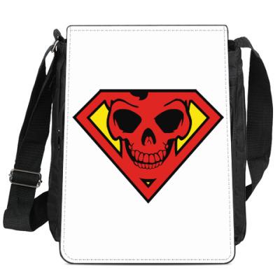 Сумка-планшет Skull Superman