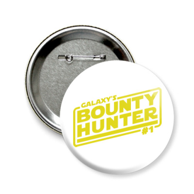 Значок 58мм Bounty Hunter