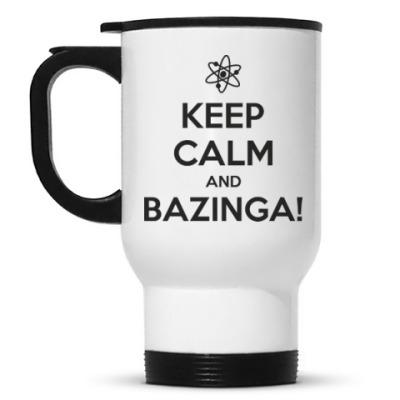 Кружка-термос  BAZINGA!