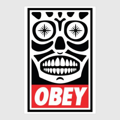 Постер Obey Mexico