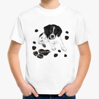Детская футболка Милый пёсик