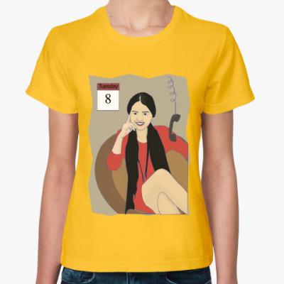 Женская футболка бизнес-леди