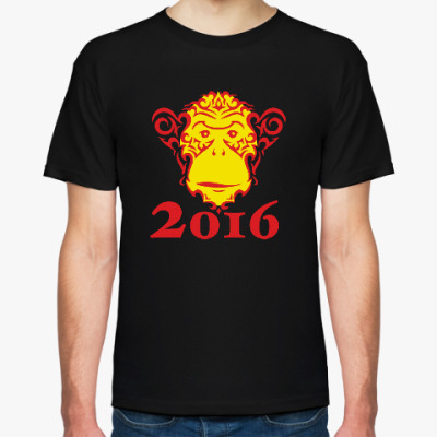 Футболка Год обезьяны 2016