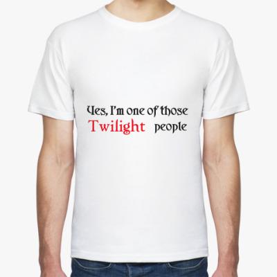 Футболка  Twilight people