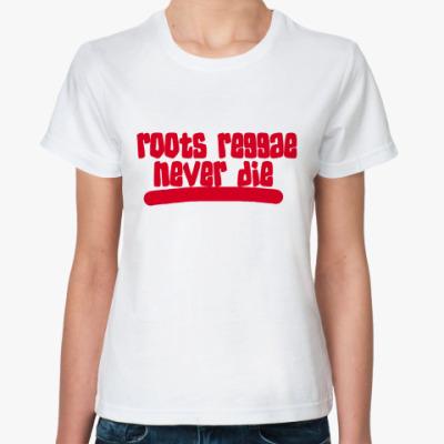 Классическая футболка Roots reggae