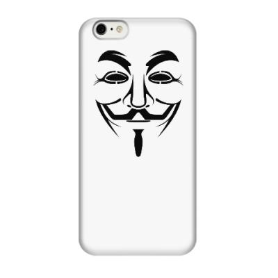 Чехол для iPhone 6/6s вендетта, анонимус, Гай Фокс