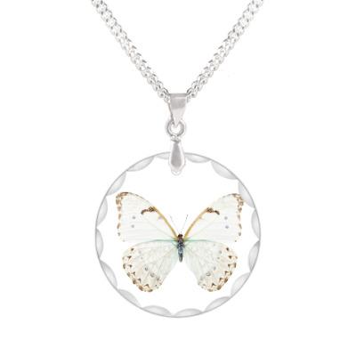 Кулон Березовая бабочка