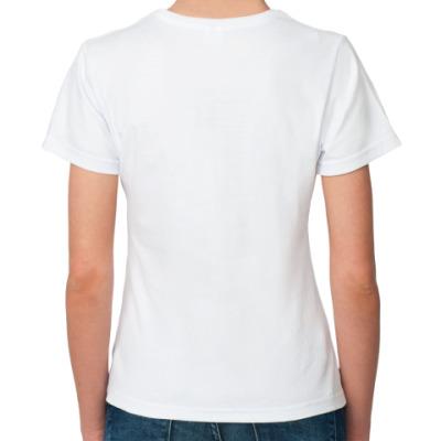 футболка со стразами