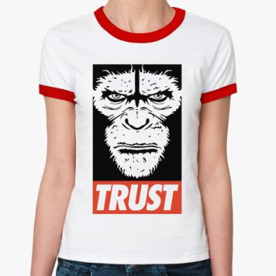 Женская футболка Ringer-T Верь