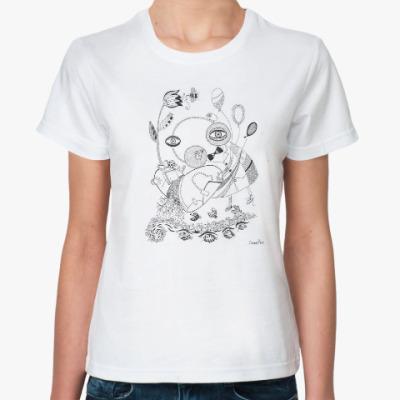 Классическая футболка мальчик и сердце