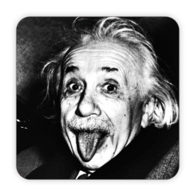 Костер (подставка под кружку) Albert Einstein
