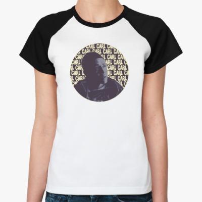 Женская футболка реглан Карл Shameless (Бесстыжие)
