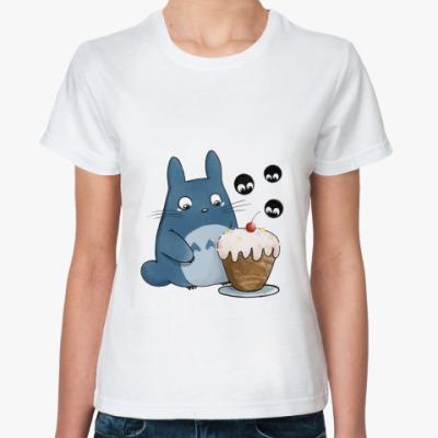 Классическая футболка Тоторо и кексик