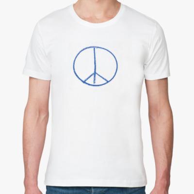 Футболка из органик-хлопка Peace