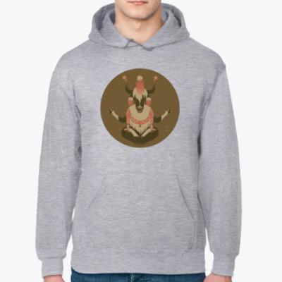 Толстовка худи Animal Zen: Y is for tibet Yak